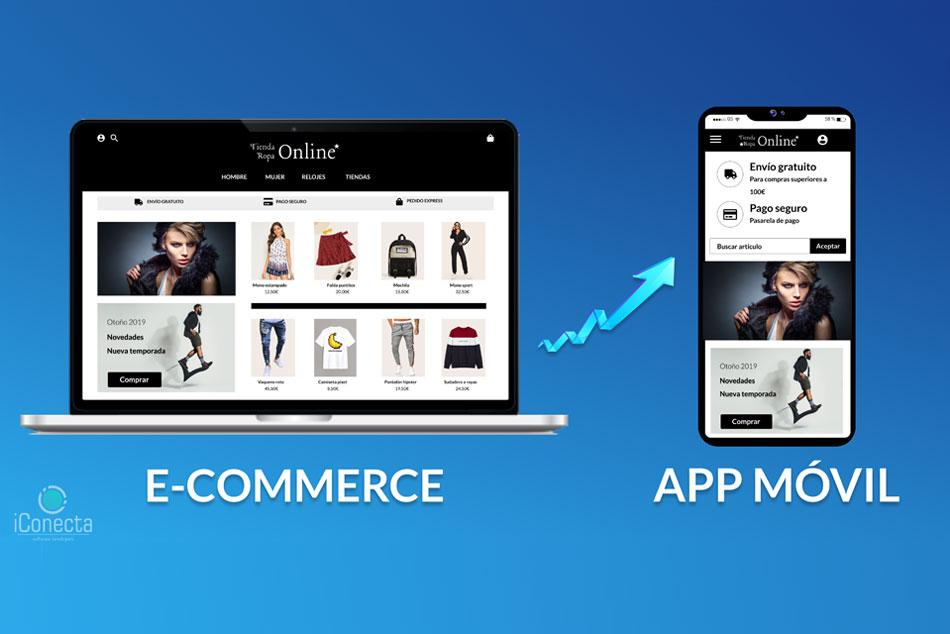 ¡Sincroniza tu web e-commerce (tienda online) a una APP móvil!