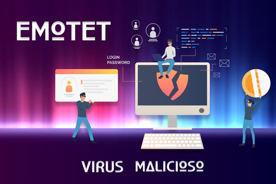 ¡ALERTA! Virus informático en plena expansión que NOS ROBA EL DINERO – Emotet